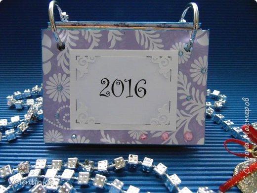 Подходят к концу новогодние праздники. Но подарки еще подарены не всем. Этот бесконечный календарь делала в подарок подруге у которой уже много моих работ. Поэтому нужно что то новенькое и эксклюзивное. фото 1