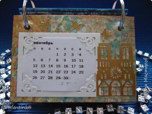 Подходят к концу новогодние праздники. Но подарки еще подарены не всем. Этот бесконечный календарь делала в подарок подруге у которой уже много моих работ. Поэтому нужно что то новенькое и эксклюзивное. фото 10