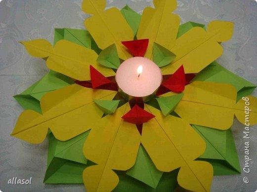 Мандала со свечами фото 11