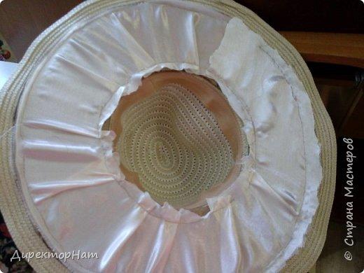 Всем привет! Недавно столкнулась с такой проблемой,зимой попросили на заказ сделать соломенную шляпу с фруктами!  фото 3
