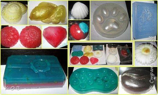 разное мыло для подарочков