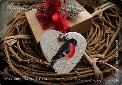 """Сердечки - валентинки. Роспись в технике """"Двойной мазок"""" на деревянных заготовках - сердечках. Предусматривались как магнитики , но можно использовать и так - для дизайна подарков."""