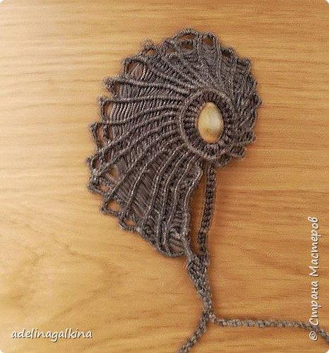 Макраме-кулоны фото 6