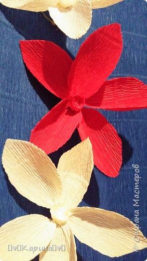 Здравствуйте!  Для конкурса: Я Карина, мне 14, технику не знаю, но что это за цветы тоже не знаю... Может лотос... Руки сами делали! фото 4