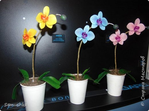 "Такие орхидейки слепила коллегам ""на прощание"".... фото 2"