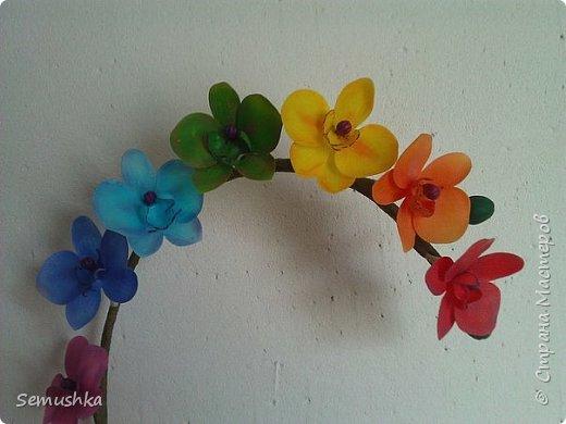 "Такие орхидейки слепила коллегам ""на прощание"".... фото 6"