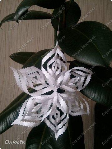 Обезьянки-вытынанки и немножко снежинок фото 10