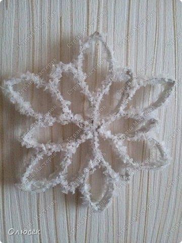 Обезьянки-вытынанки и немножко снежинок фото 12