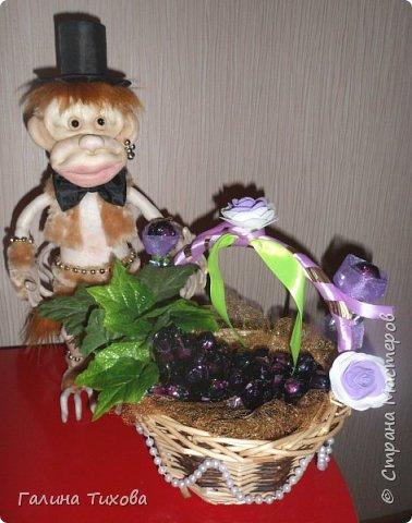 Обезьянка и виноград.. фото 6