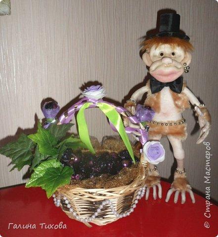 Обезьянка и виноград.. фото 8
