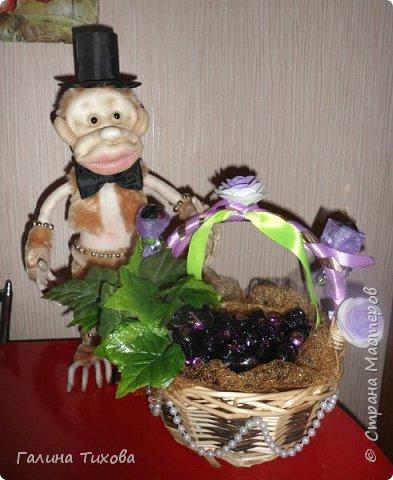 Обезьянка и виноград.. фото 7