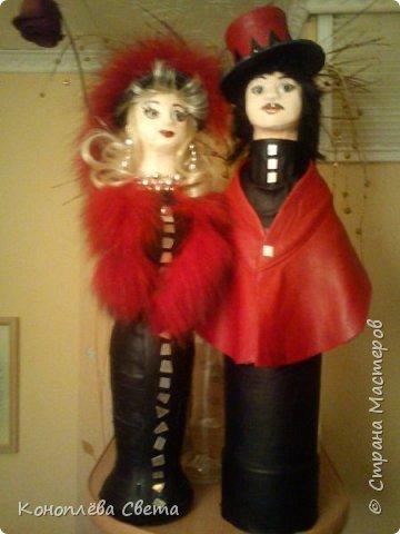 куклы из бутылок фото 2