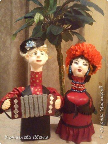 куклы из бутылок фото 3