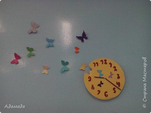 Часы из бумаги