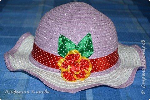 Доброго времени суток. Вот такая у меня получилась шляпка. фото 1