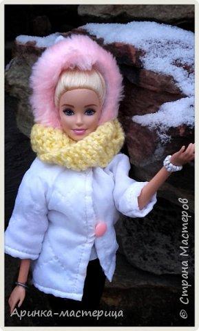 Всем привет✌ У нас недавно был снег и мы ходили фотографироваться ) Шарфик вязала сама. фото 4