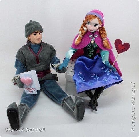 Валентинки для кукол