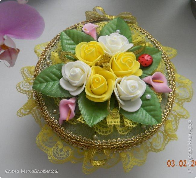 """Шкатулка """"Весна"""" фото 5"""
