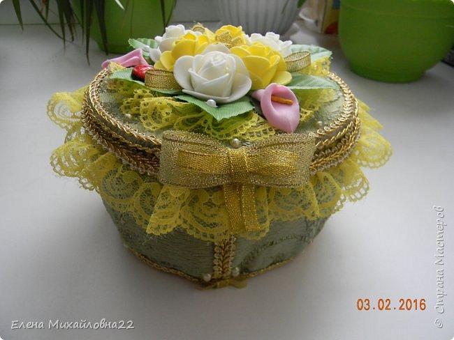 """Шкатулка """"Весна"""" фото 3"""