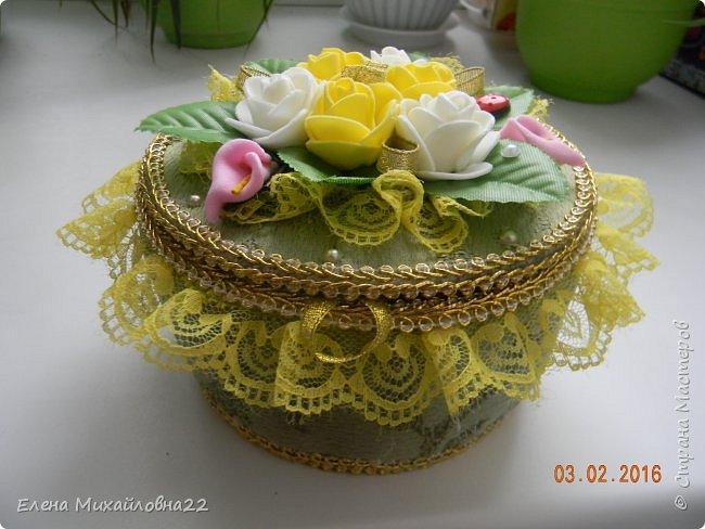 """Шкатулка """"Весна"""" фото 2"""
