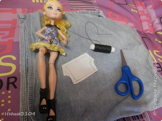 серия МК ,, 5 дней с Блонди ,, день 5 шьем шорты  фото 8