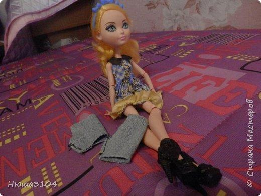 серия МК ,, 5 дней с Блонди ,, день 5 шьем шорты  фото 11