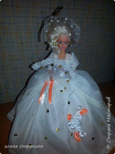 Доброго времени суток, мои дорогие мастерицы СМ. Хочу поделиться еще одной новой куклой. Не судите строго. Кукла ждет свою новую хозяйку. На этот раз дамочка с веером. фото 1