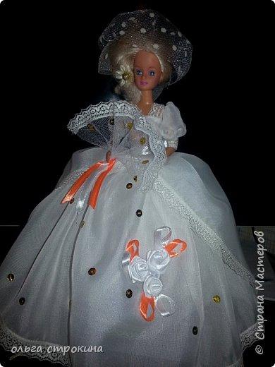 Доброго времени суток, мои дорогие мастерицы СМ. Хочу поделиться еще одной новой куклой. Не судите строго. Кукла ждет свою новую хозяйку. На этот раз дамочка с веером. фото 2