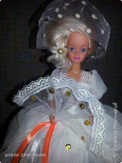 Доброго времени суток, мои дорогие мастерицы СМ. Хочу поделиться еще одной новой куклой. Не судите строго. Кукла ждет свою новую хозяйку. На этот раз дамочка с веером. фото 7