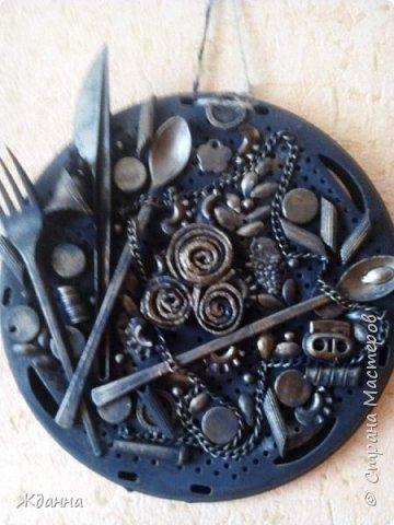 Кухонное панно на рассекателе. фото 2