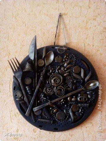 Кухонное панно на рассекателе. фото 1