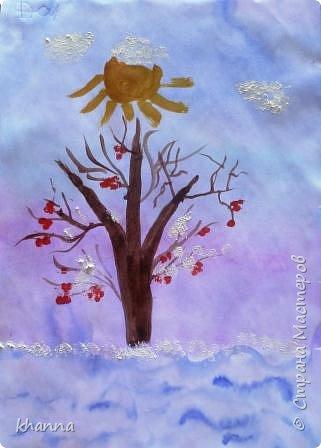 Автор рисунка Адель, ученик  1 класса фото 3