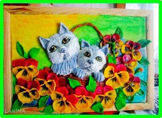 котята получились грустные, переделывала несколько раз но результат тот же. фото 1