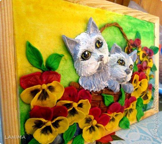 котята получились грустные, переделывала несколько раз но результат тот же. фото 2