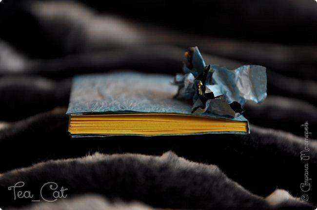 """Доброго Времени суток, Жители Страны Мастеров. Я сдаю работу на конкурс """"Загадочный блокнот"""". Я сделала блокнот, но у меня появилось вдохновение. Поэтому я сделала еще и платье. Всё выполнено из конфет """"Марсианка"""". Уж очень я их люблю) фото 6"""