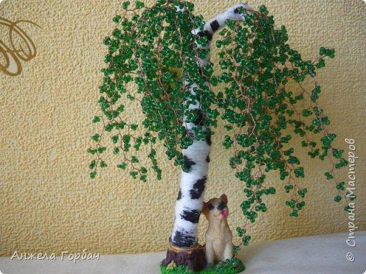 Бисерные деревья фото 2