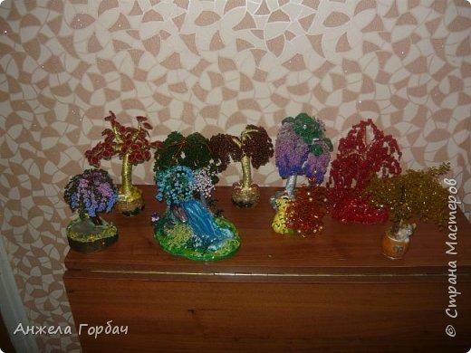 Бисерные деревья фото 8