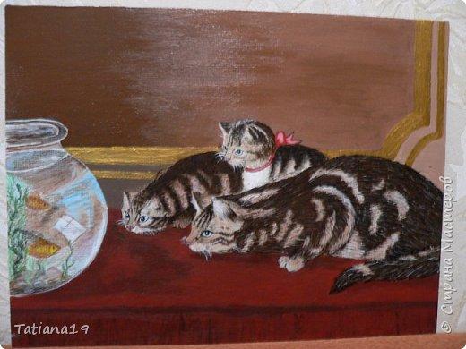На именины Татьяны дочь подарила мне картину.Писала ее с работы Генри Гарацио Коулдри.