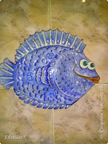 Рыбки (продолжаю знакомиться с  соленым тестом) фото 1