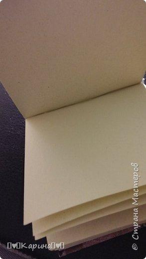 Здравствуйте! Сегодня сдаю вторую работу!  Это мой блокнотик, ПОЛНОСТЬЮ САМОДЕЛЬНЫЙ! фото 4