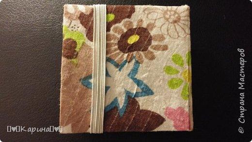 Здравствуйте! Сегодня сдаю вторую работу!  Это мой блокнотик, ПОЛНОСТЬЮ САМОДЕЛЬНЫЙ! фото 2