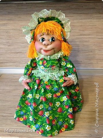 Кукла - грелка на чайник Дарьюшка. Добрая, хозяйственная, всегда позаботится ,чтобы чай был горячим))) фото 1