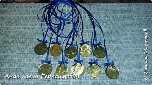Попросили меня в школу сделать медали для соревнований по физкультуре. фото 1