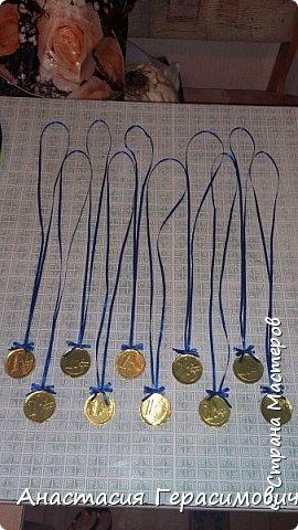 Попросили меня в школу сделать медали для соревнований по физкультуре. фото 2