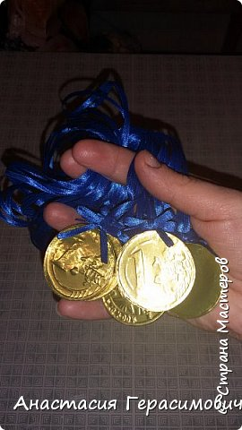 Попросили меня в школу сделать медали для соревнований по физкультуре. фото 3