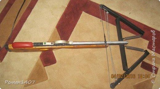 Арбалет для спортивной стрельбы с дерева и метала фото 2