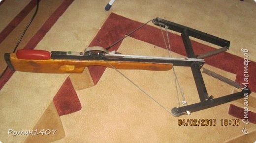 Арбалет для спортивной стрельбы с дерева и метала фото 4