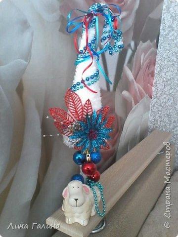 Всем привет!:)Сегодня я вам покажу свои новогодние ёлочки.Фоток будет много,надеюсь,не утомлю вас...Итак приступим!:) Елочка ,,Захотелось лета,вишни,солнца...,, фото 3