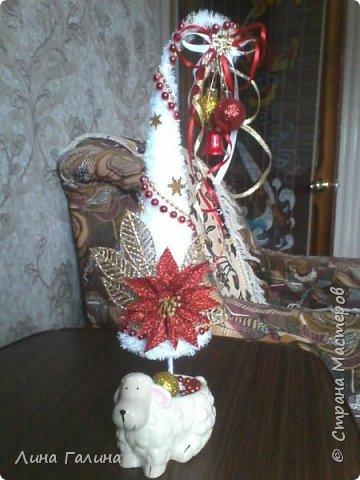 Всем привет!:)Сегодня я вам покажу свои новогодние ёлочки.Фоток будет много,надеюсь,не утомлю вас...Итак приступим!:) Елочка ,,Захотелось лета,вишни,солнца...,, фото 6