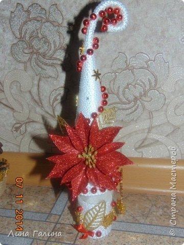 Всем привет!:)Сегодня я вам покажу свои новогодние ёлочки.Фоток будет много,надеюсь,не утомлю вас...Итак приступим!:) Елочка ,,Захотелось лета,вишни,солнца...,, фото 14